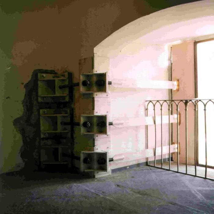 CONSOLIDATION OF EARTHQUAKE DAMAGE CAUSED 26.09.1997 AND LATER. PALAZZO DEI PRIORI DI PERUGIA