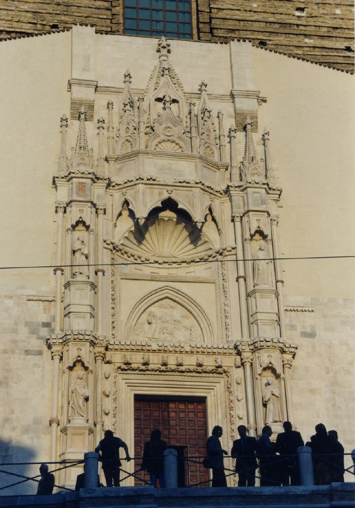 EXECUTIVE PROJECT FOR THE CONSOLIDATION OF THE PORTAL OF SAN FRANCESCO DELLE SCALE IN ANCONA