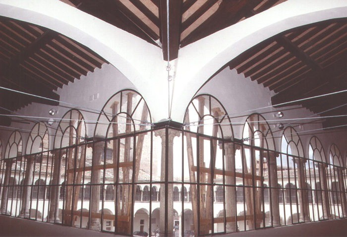 EXECUTIVE PROJECT FOR STRUCTURAL WORK ON THE  SAN DOMENICO COMPLEX IN PERUGIA