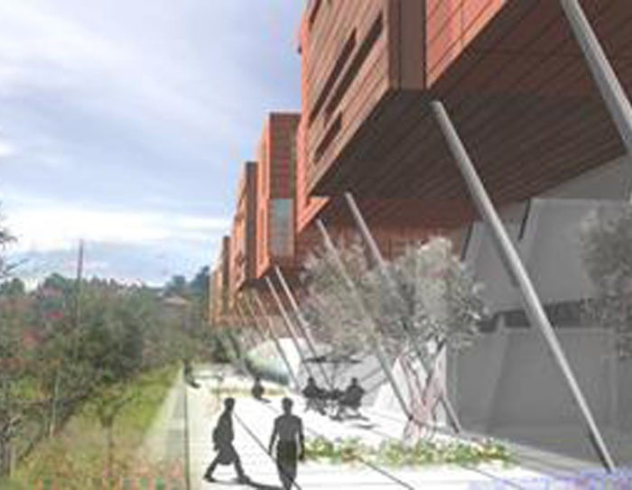 COMPETITIVE EXAMINIATION FOR PROJEC THE CONSTRUCTION OF UNIVERSITY RESIDENCES WITH CONNECTED FACILITIES IN PERUGIA - MONTELUCE
