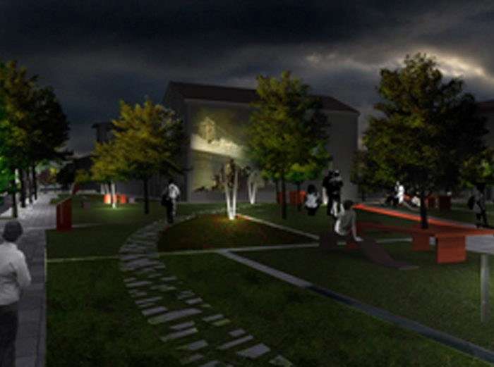 COMPETITIVE EXAMINIATION FOR PROJECTING THE IMPROVEMENT OF THE HISTORICAL TOWN CENTRE OF CASTELFRANCO EMILIA