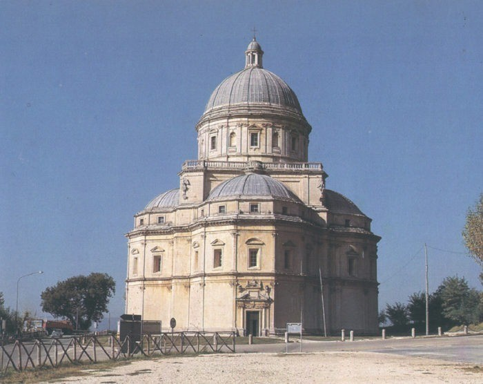 CONSOLIDATION WORK ON THE CHURCH OF SANTA MARIA DELLA CONSOLAZIONE IN TODI (PG)