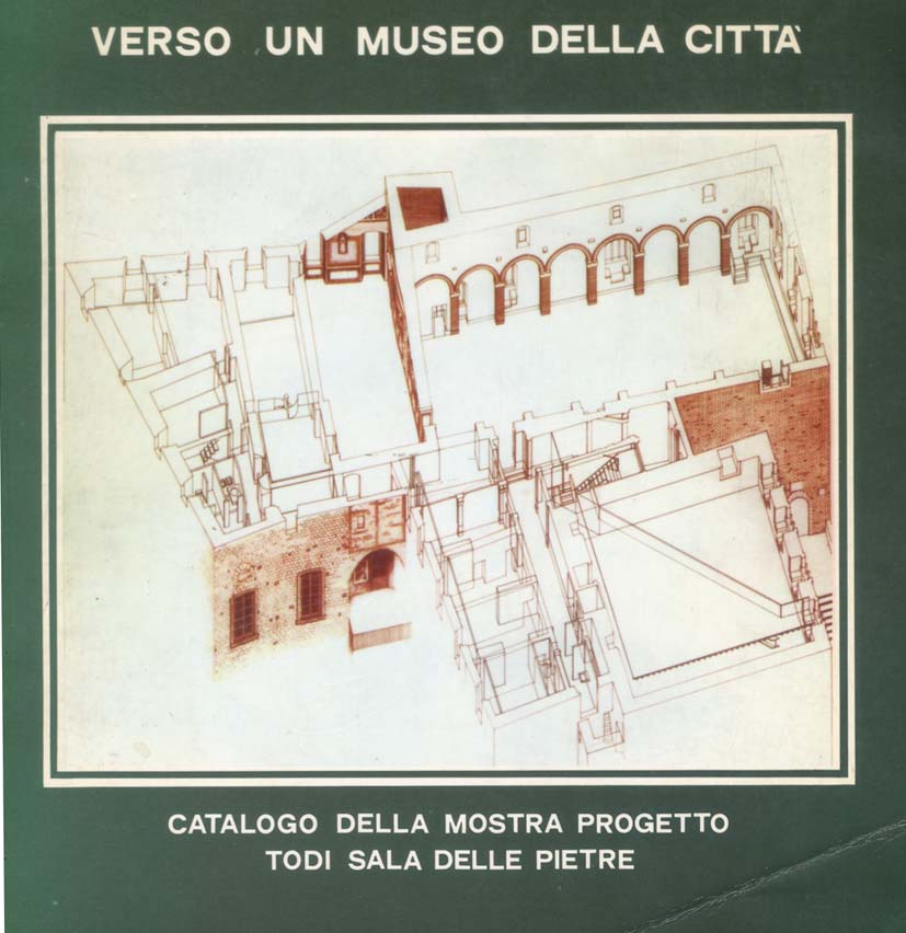 "TOWARDS A MUSEUM OF THE TOWN – TODI MUNICIPALITY, 1982; ""ANALYSES OF CONSTRUCTION METHODS OF THE ETRUSCAN WALL- NORTH-EAST SIDE."""