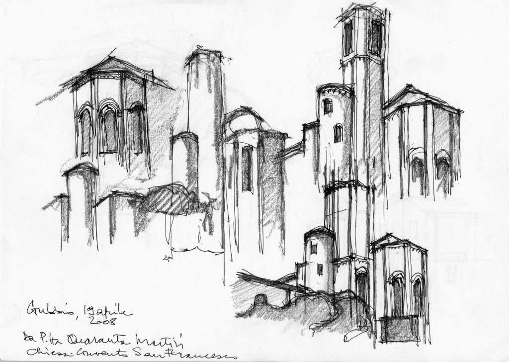 Massimo Mariani's selected free hand sketches