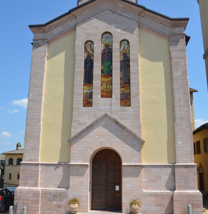 RESTORATION OF THE CHURCH OF ST. BARTOLOMEO IN  SOLOMEO