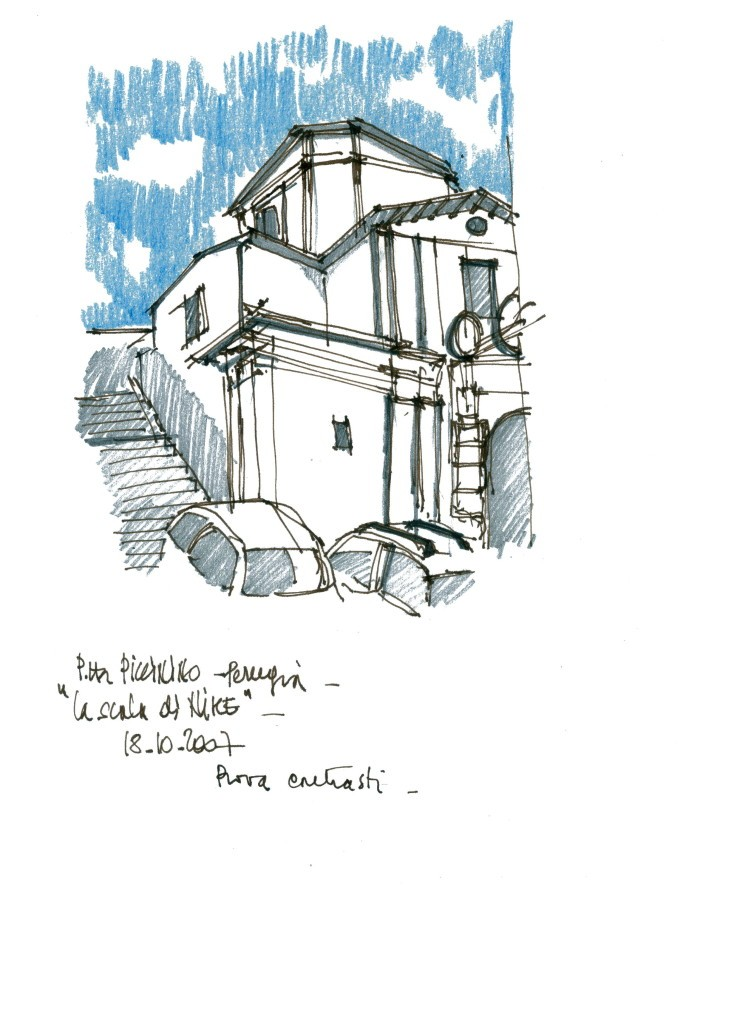 Ing. Arch. Massimo Mariani Artworks ad drawings