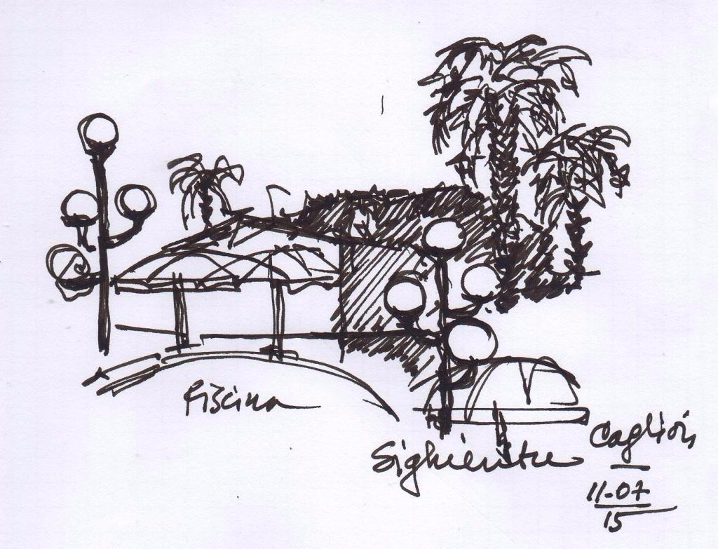 Ing. Arch. Massimo Mariani Disegno Mano libera. Artworks.  (11)