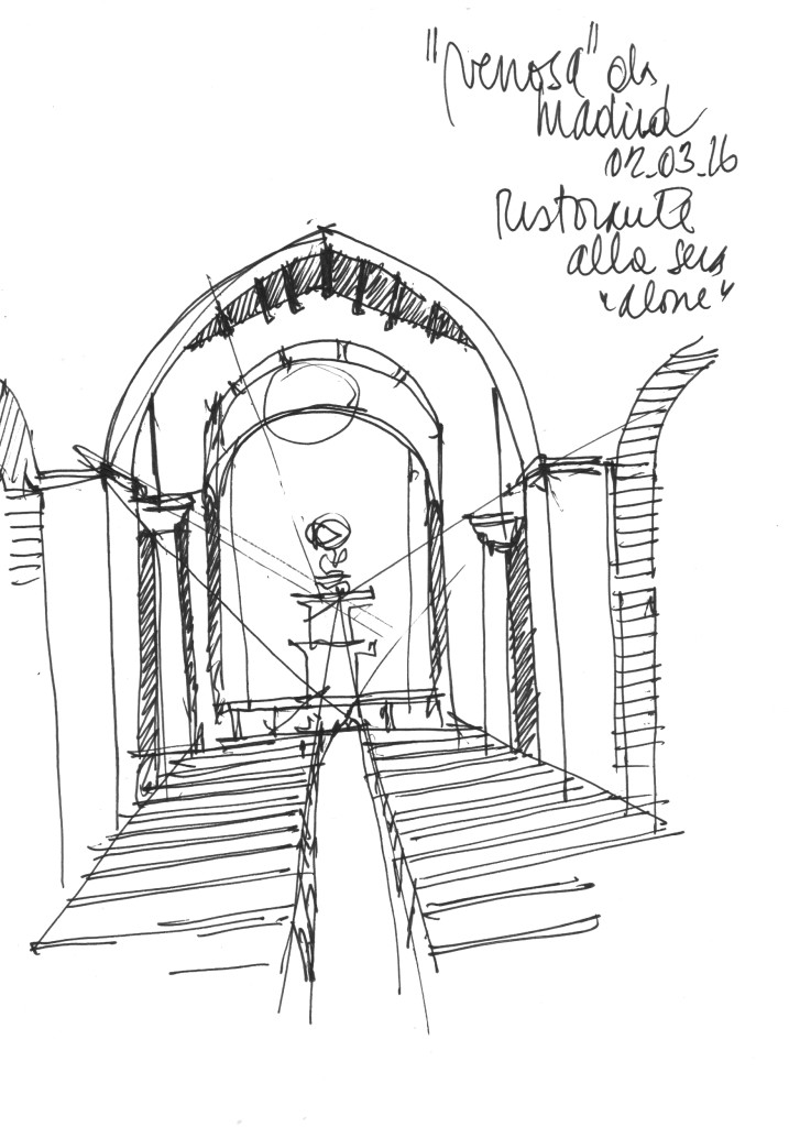 Ing. Arch. Massimo Mariani Disegno Mano libera. Artworks.  (2)