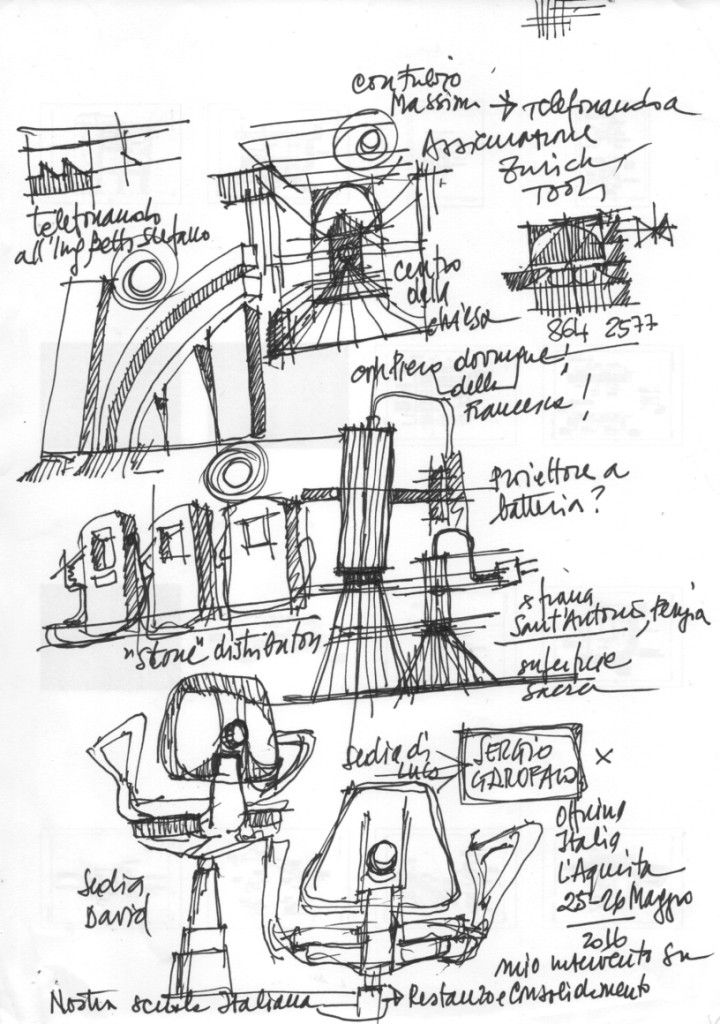 Ing. Arch. Massimo Mariani Disegno Mano libera. Artworks.  (6)