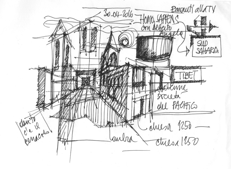 Ing. Arch. Massimo Mariani Disegno Mano libera. Artworks.  (7)