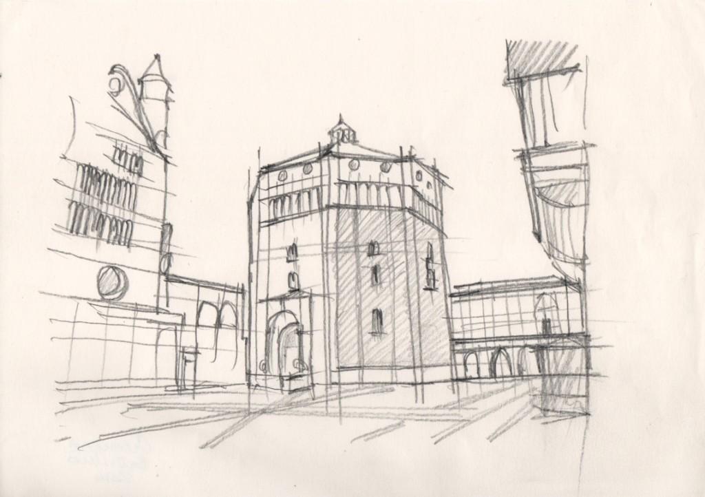 Ing. Arch. Massimo Mariani Disegno Mano libera. Artworks.  (8)