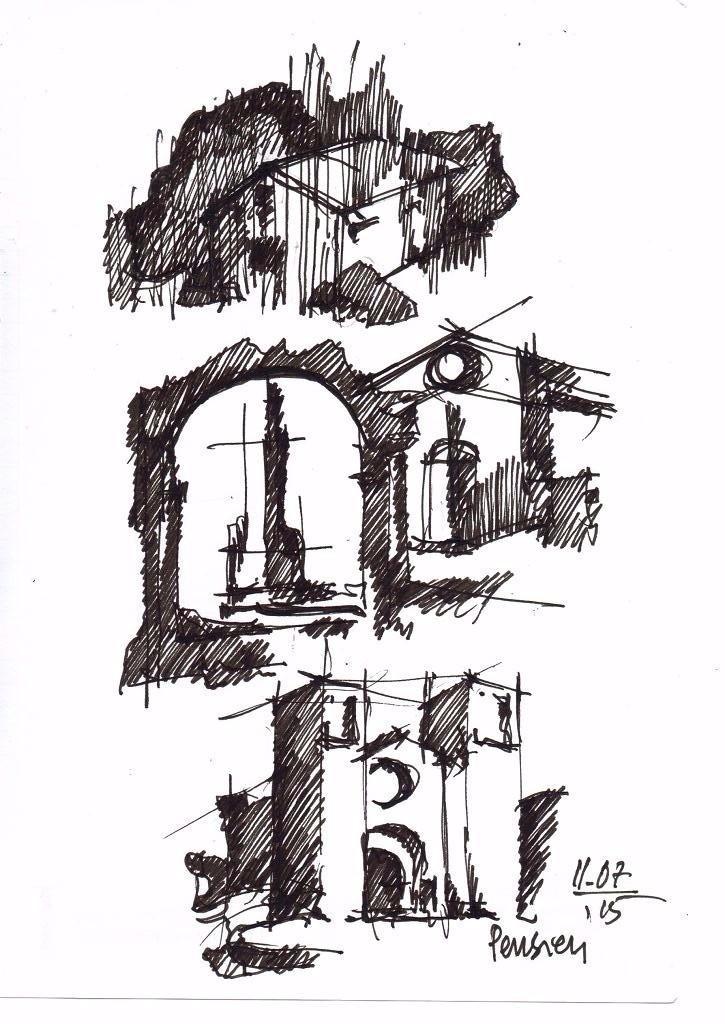 Ing. Arch. Massimo Mariani Disegno Mano libera. Artworks.  (9)