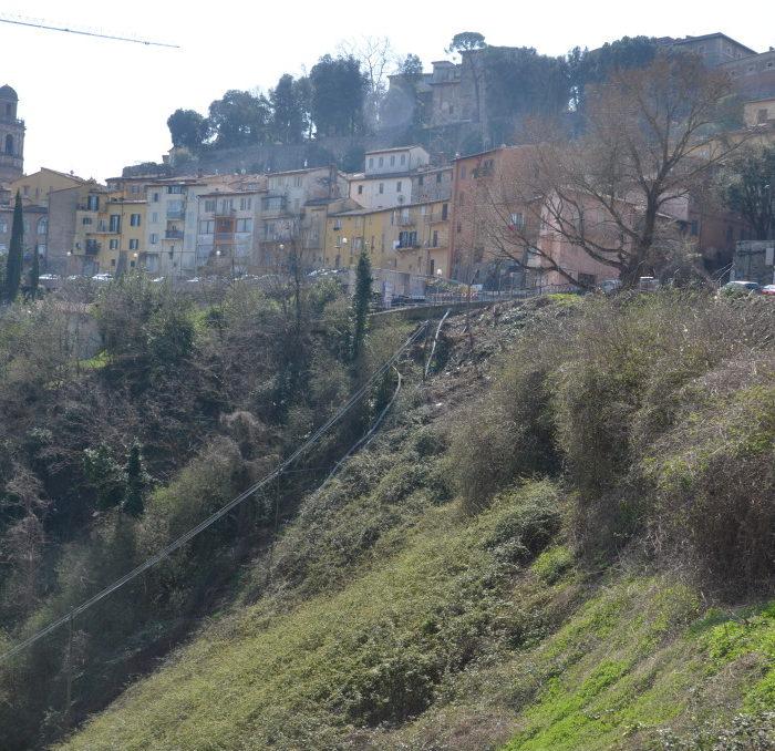 Progetto Risanamento della frana in viale Sant Antonio (3)