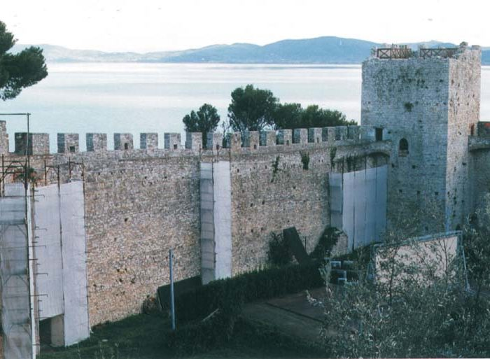 EXECUTIVE PROJECT FOR ARCHITECTURAL RECUPERATION, RESTORATION AND MONITORING OF NORTHERN WALL OF THE ROCCA DEL LEONE FORTRESS