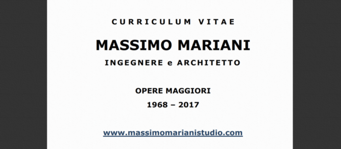 ing-arch-massimo-mariani-curriculum-vitae-screenshot