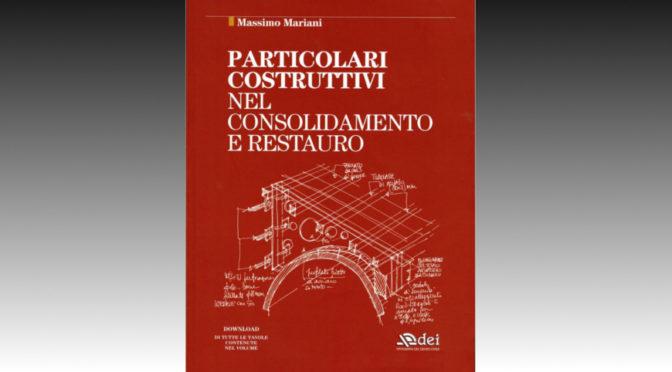 Massimo Mariani Particolari costruttivi libro