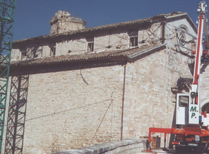 CONSOLIDATION AND RESTORATION OF THE CHURCH OF SANTA MARIA ASSUNTA IN SELLANO