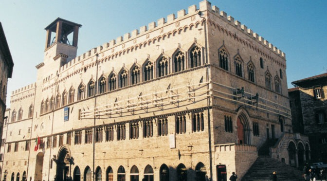 EXECUTIVE PROJECT FOR STRUCTURAL WORK AND CONSOLIDATION OF EARTHQUAKE DAMAGE CAUSED 26.09.1997 AND LATER.  PALAZZO DEI PRIORI IN PERUGIA