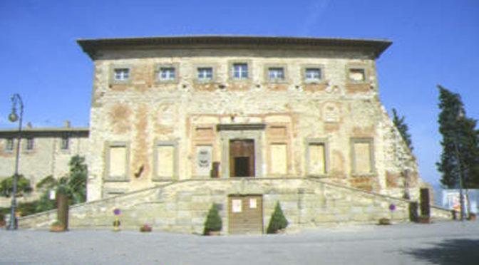 RECOVERY OF MONUMENTAL COMPLEX OF PALAZZO DELLA CORGNA, TOWN WALLS, WALK AND GARDENS