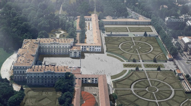COMPETITIVE INTERNATIONAL EXAMINATION FOR PROJECTING THE RECOVERY AND IMPROVEMENT OF THE ROYAL VILLA OF MONZA AND ITS GARDENS
