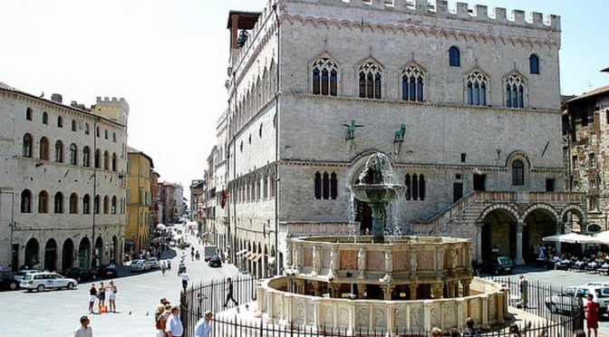 STATIC INSPECTION ACCORDING TO ART. 7 OF LAW N. 1086/OF EMERGENCY STEPS AND ENTRANCE TO THE NATIONAL GALLERY OF UMBRIA INSIDE OF PALAZZO DEI PRIORI IN PERUGIA