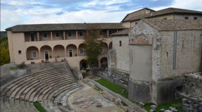 """<span lang =""""it"""">MUSEO ARCHEOLOGICO DI SPOLETO – LAVORI DI MESSA IN SICUREZZA</span>"""