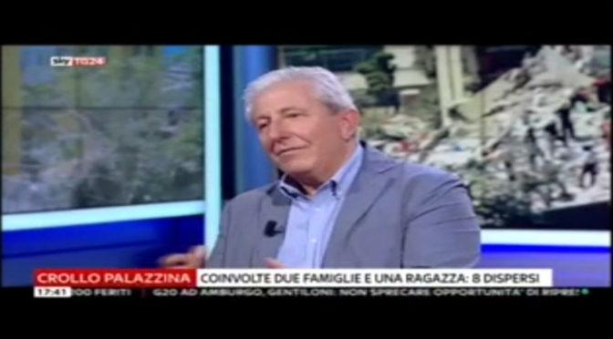 Massimo Mariani Intervento a Sky tg24 07/07/2017
