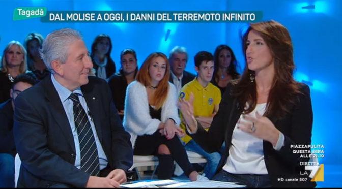 Massimo Mariani – La7 – Tagadà -27-10-2016