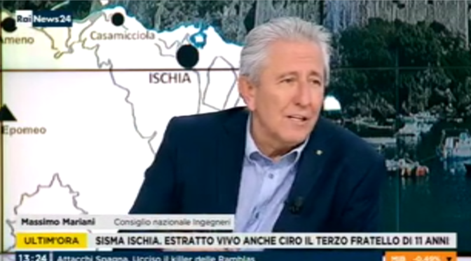 "<span lang =""it"">RAINEWS 24 22/08/2017 – Terremoto Ischia – Massimo Mariani (2 di 2)</span>"